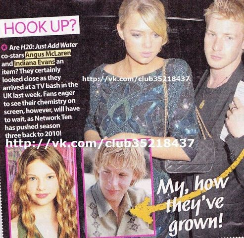 Indiana evans dating angus mclaren - Science-usable.cf