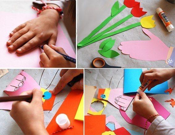 Подарок для мамы сделанные своими руками детей