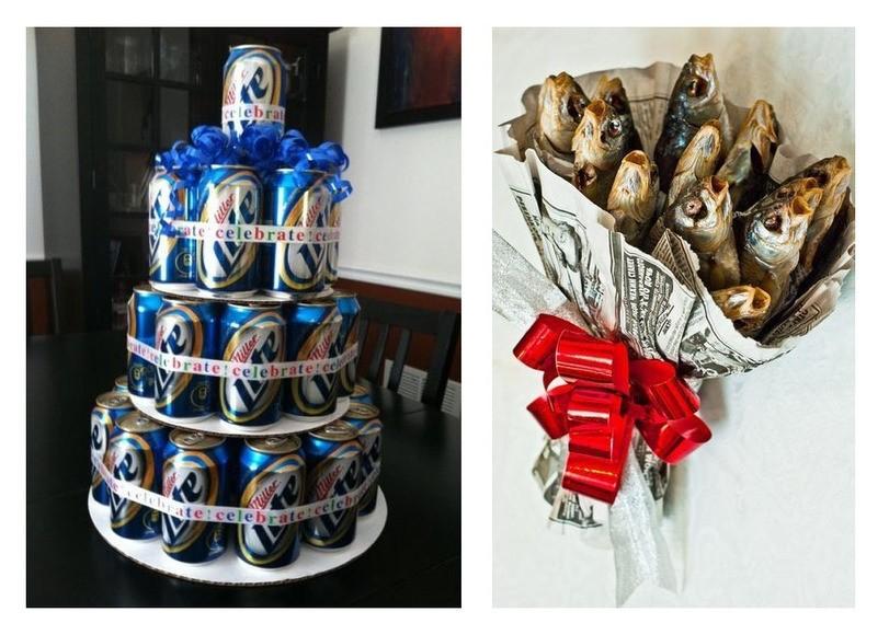 Подарок мужу на день рождения идеи из пива