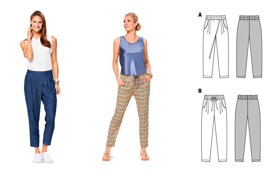 Как самим сшить брюки женские