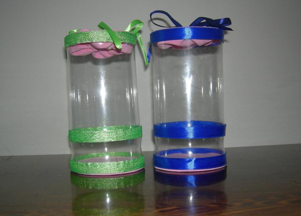 Подарочная упаковка из пластиковой бутылки