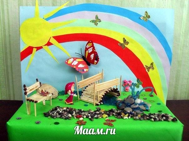 Поделки для детского сада на конкурс из природных материалов