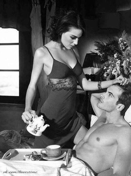 тебе девушка приносит кофе в постель парню картинки тому непременно почувствуете