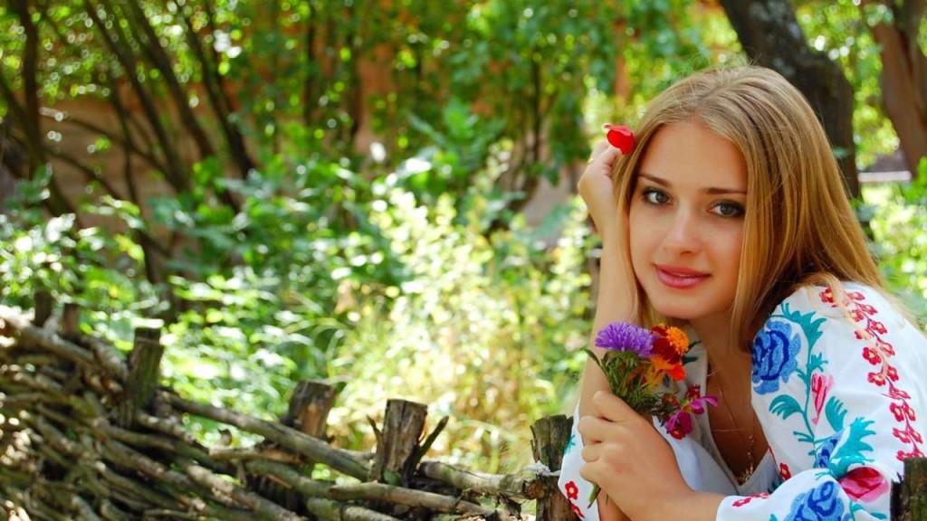 Украинская девушка очень красивая