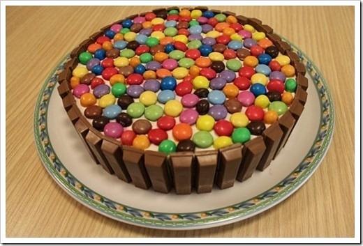 Как украсить торт на день рождения ребенка в домашних условиях фото