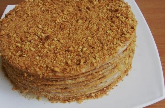 Торт медовый рецепт в домашних условиях пошаговый рецепт с фото