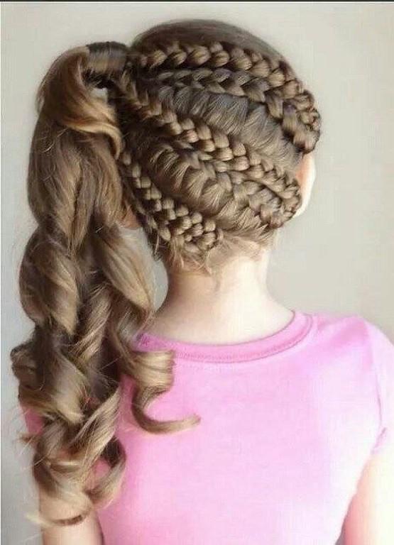 Прически с косами для девочек пошагово