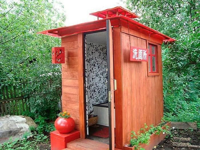 Как сделать туалет на даче в доме