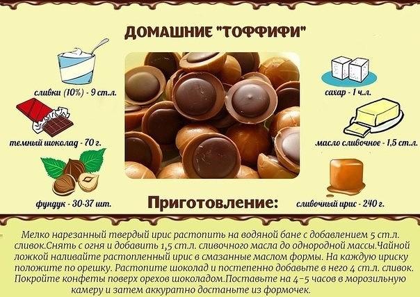 Легкие сладости в домашних условиях