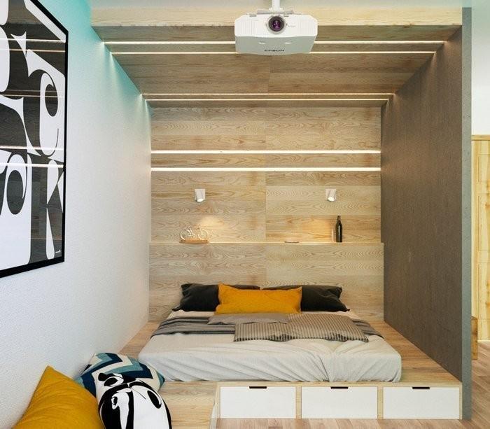 как сделать небольшой подиум в квартире своими руками