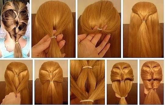 причёски быстро и легко своими руками фото