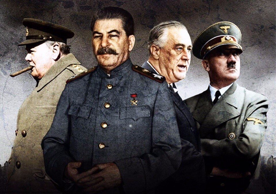 a comparison of adolf hitler and joseph stalin two leaders in the second world war Hitler versus stalin comparison and   world war i and world war ii comparison and.