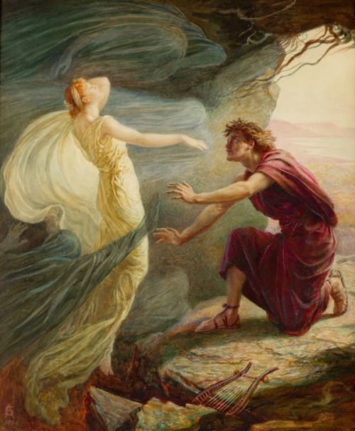 the myth of eurydice When orpheus looks back at eurydice on their way to the upperworld, he breaks the condition hades gave in allowing orpheus to retrieve her from death orpheus is supposed to trust that eurdyice is.