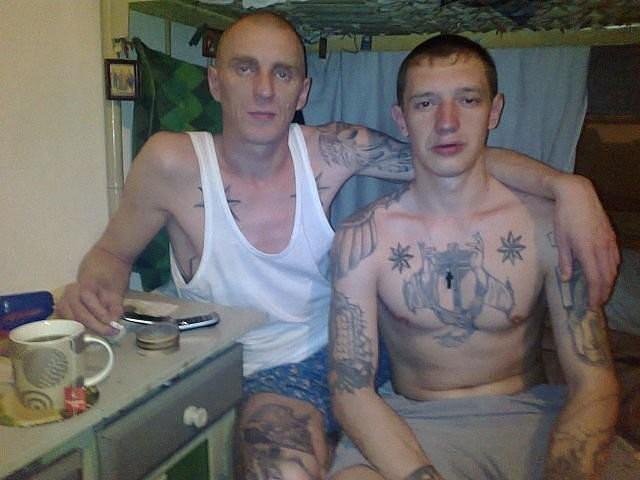 фото блатных в тюрьме голенькое тело