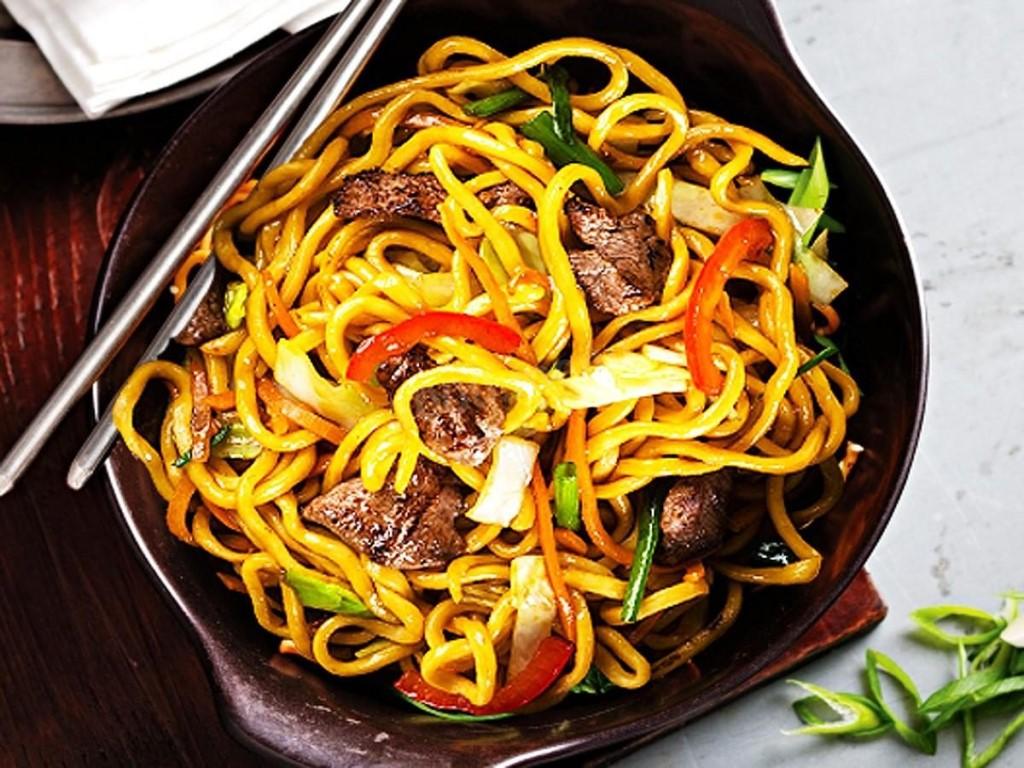 3 рецепта лапши по-азиатски