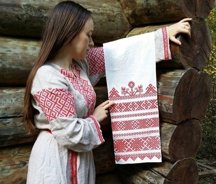 полотенце на Руси
