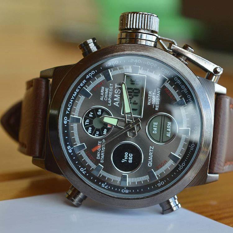 Часы amst с японским механизмом miyota отличаются высокой прочностью, водостойкостью, функциональностью и эффектным внешним видом, который сразу подчеркнет статус их обладателя.