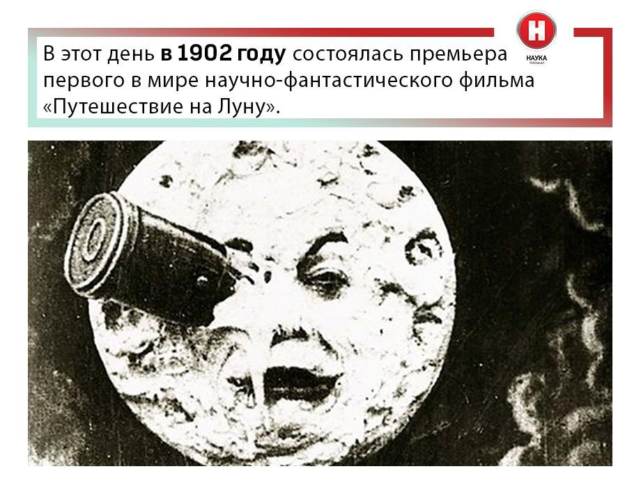 Картинки по запросу 1902 Состоялась премьера первого в мире научно-фантастического фильма «Путешествие на Луну»