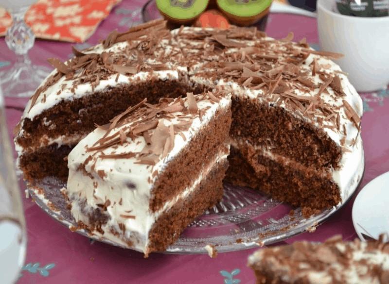 Торт Черный принц на кефире ( в мультиварке и духовке)