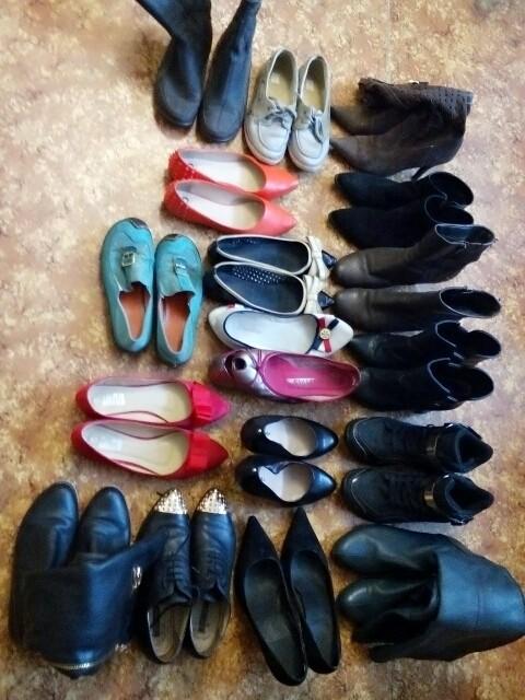 Женская обувь 38-39 размеров.