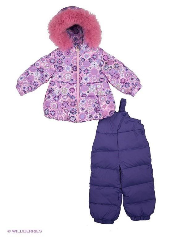 Продам новый, зимний костюм на девочку.