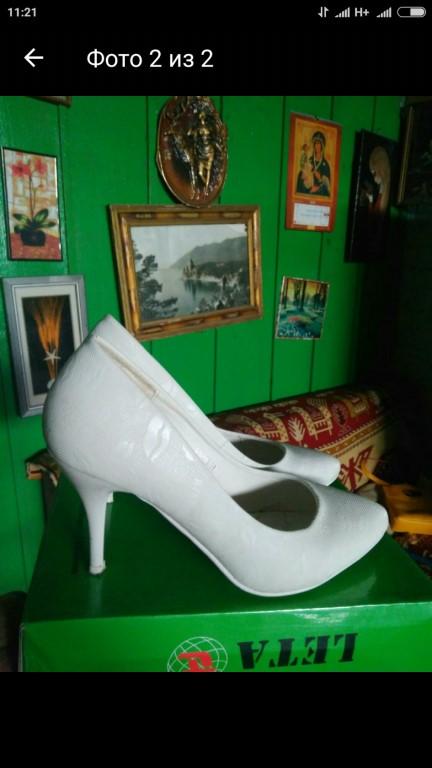 Продам свадебные туфли,38 размер.тел 89528907993,цена договорная)