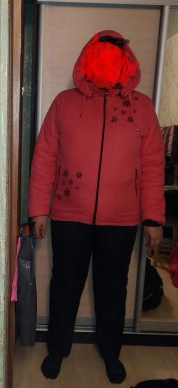 Продам зимний костюм теплый, размер 54-56, штаны на рост 176см.