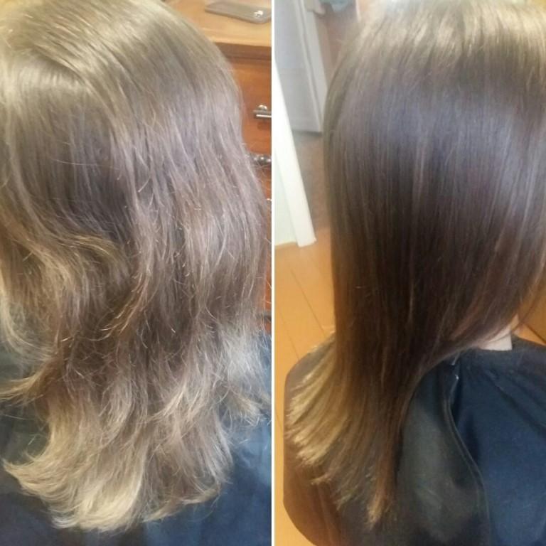 Полировка волос по самой выгодной цене - 300 рублей