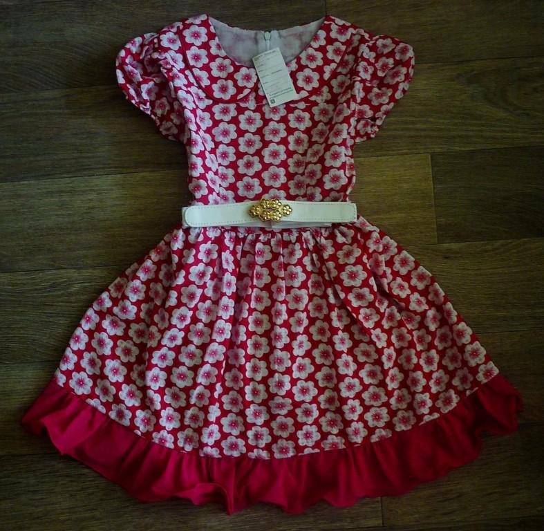Новые детские платья в наличии в Колпашево.