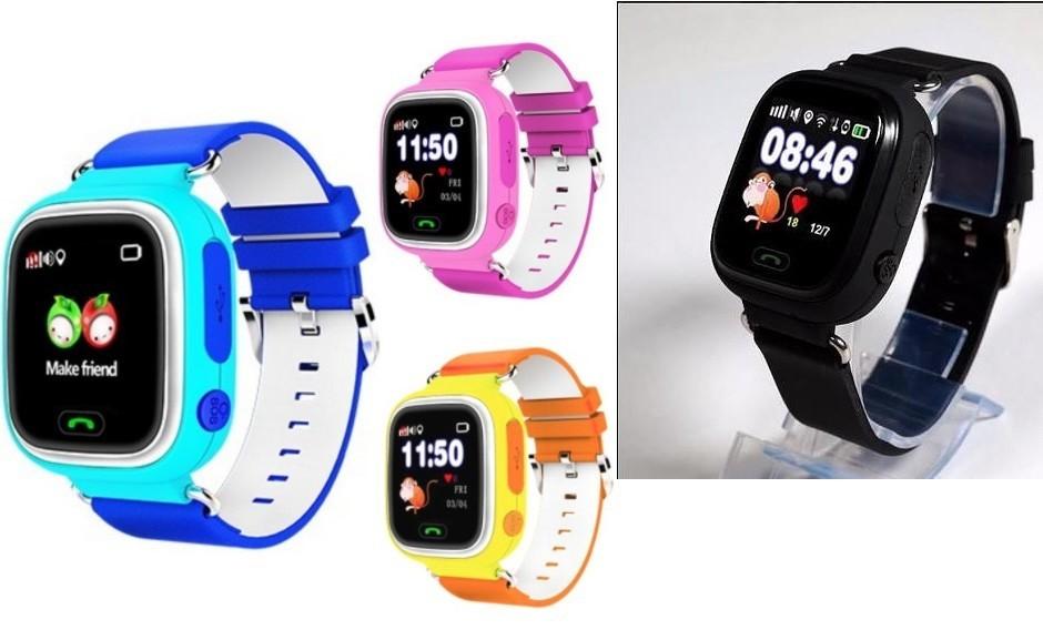 Часы-телефон Q90 с GPS для детей