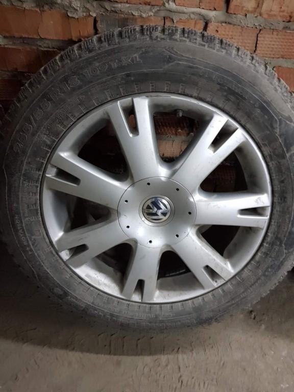 255/55/18 от Таурега модель 7-10 года колеса по цене резины пости ДАРОМ.
