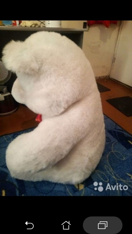 Продам срочно большого медведя..1500тр.