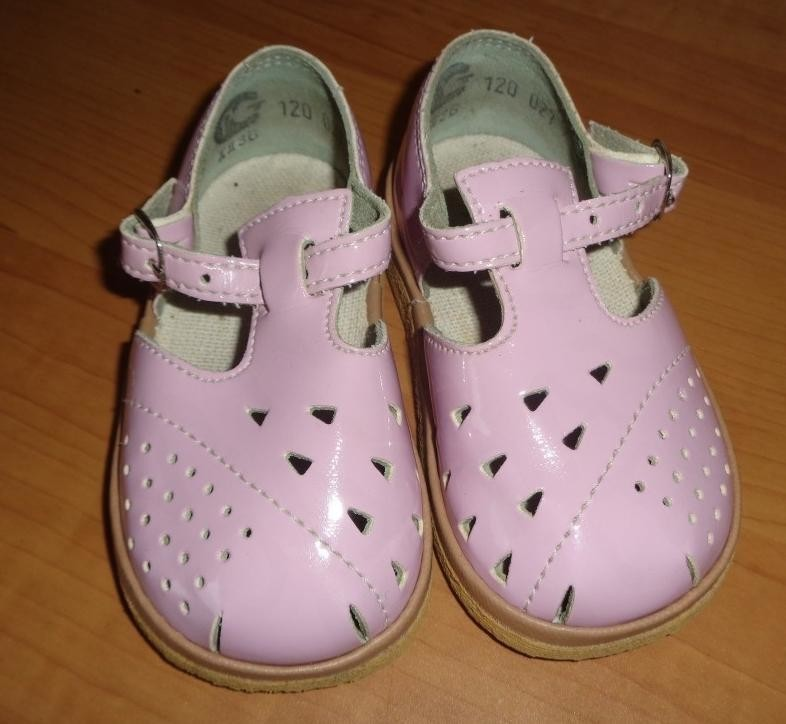 туфли кожаные фирмы BABY