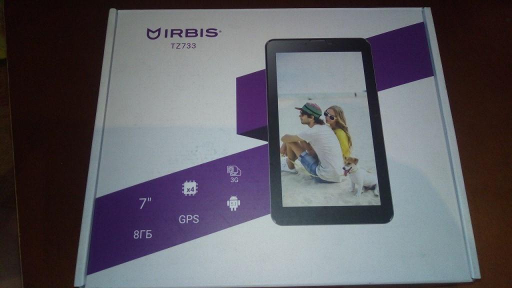 Продам планшет IRBIS TZ 733