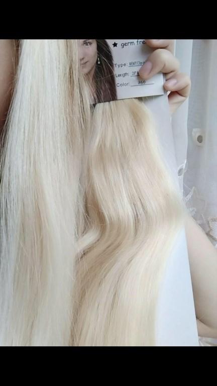 Милые дамы у нас тотальная распродажа!!!!!!!натуральные волосы на капсулах 60 см 100 капсул всего 3800р и на трессах 60 см 4500р!!!колличество ограниченно о оставшихся тонах узнавайте !