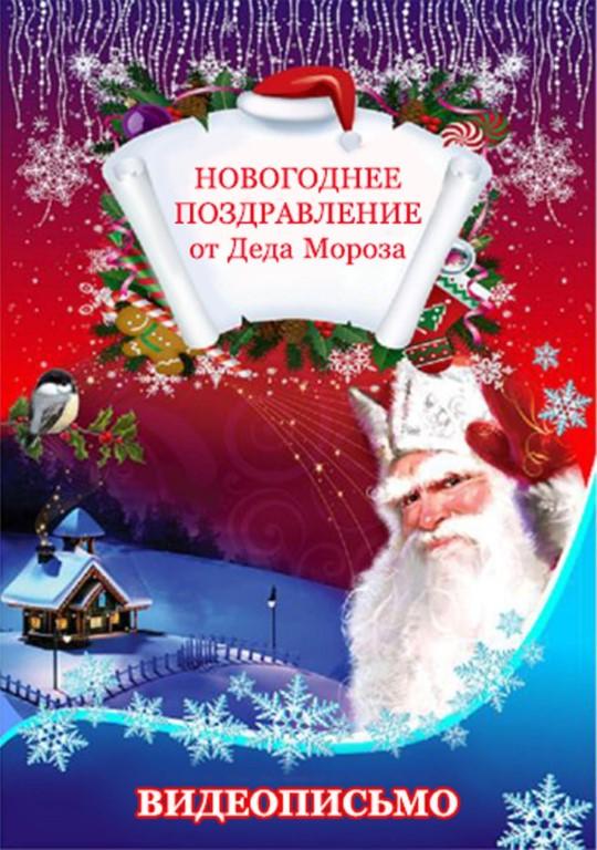ВИДЕО поздравление от Деда Мороза!!!Самый быстрый монтаж и отправка!
